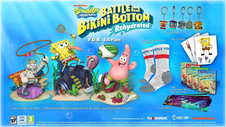 Spongebob squarpants battle for bikini