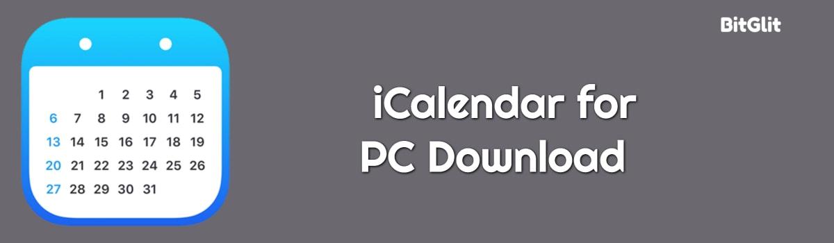 iCalendar For PC