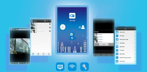 Connect IP Cam withBVCAM app