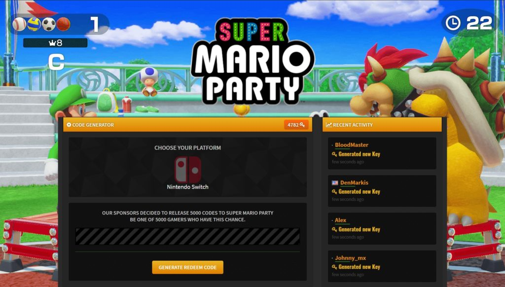 Super Mario Party For PC b