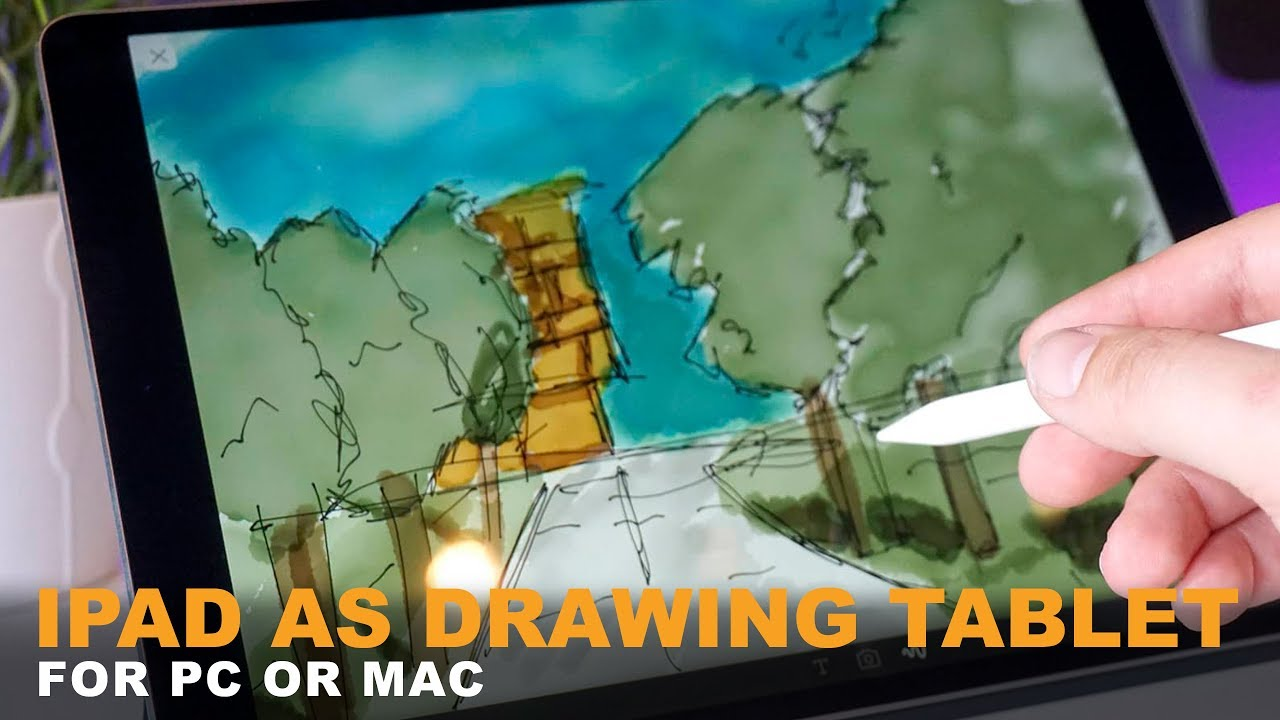 Use iPad As Drawing Tablet For PC