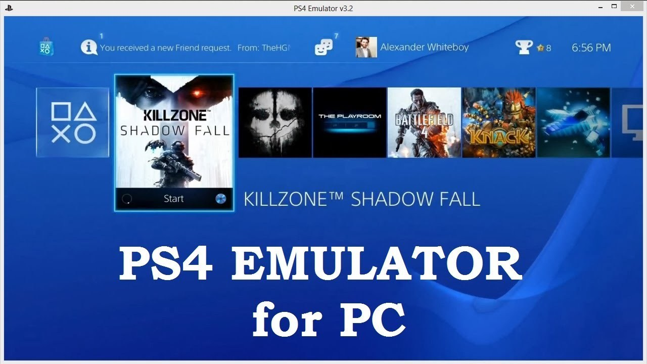 PS4 Emulator For PC