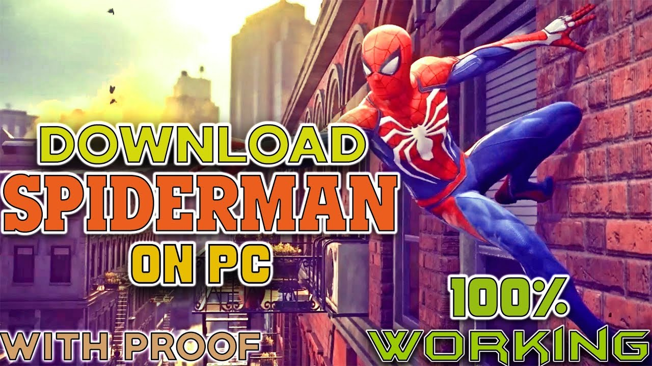 Spider Man PS4 For PC
