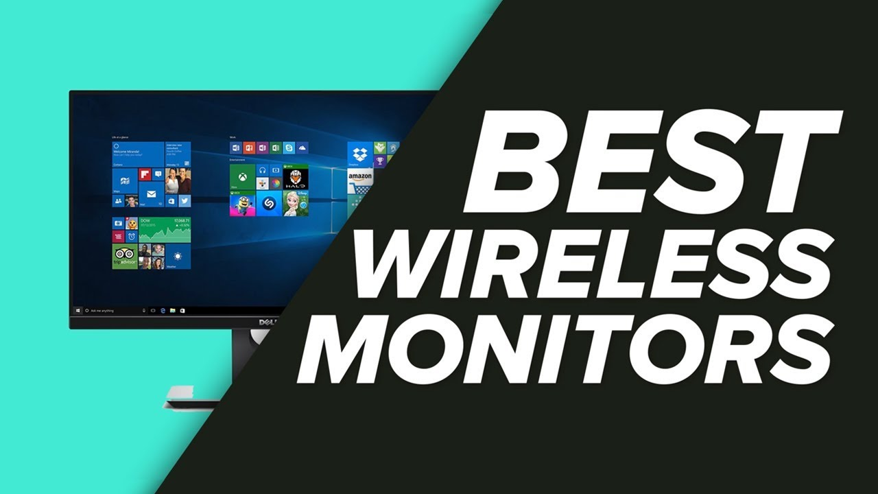 Wireless Monitor For PC