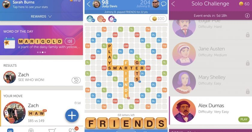 Words With Friends For PC  / Windows 10 & 7/ Mac Full Free Download