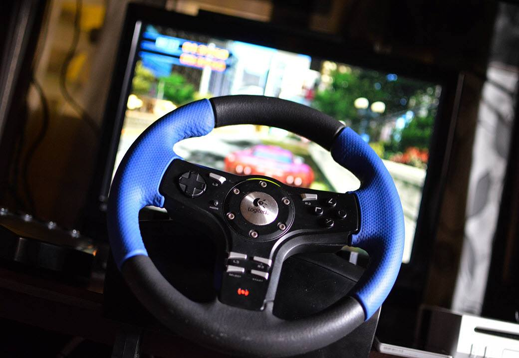 Gaming Steering Wheel For PC