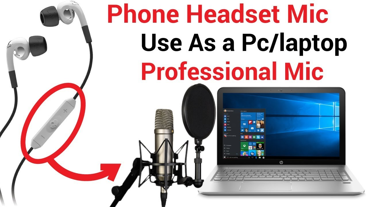 Headset Microphone For PC