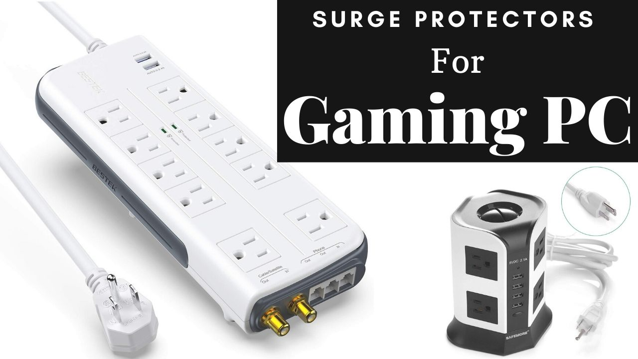Surge Protector For Gaming PC