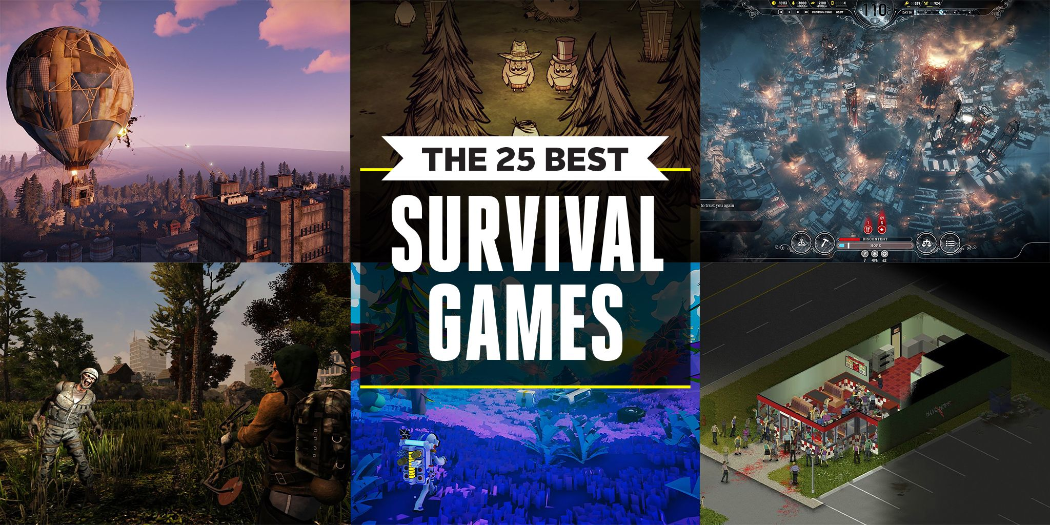 Survival Games For PC