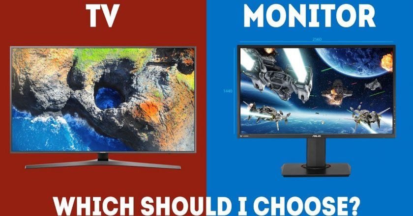 TV vs Monitor – Which One Should I Pick? In 2020