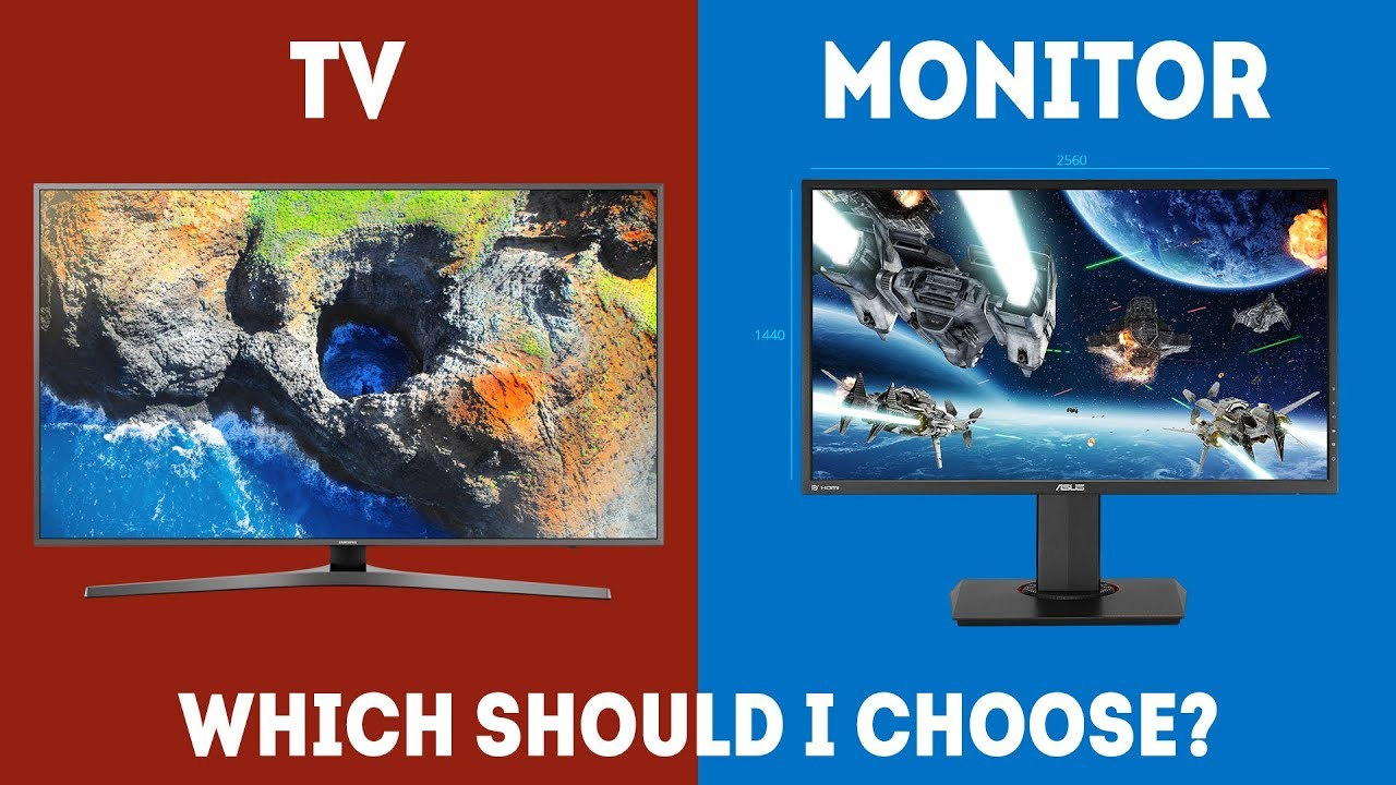 new TV or a new monitor