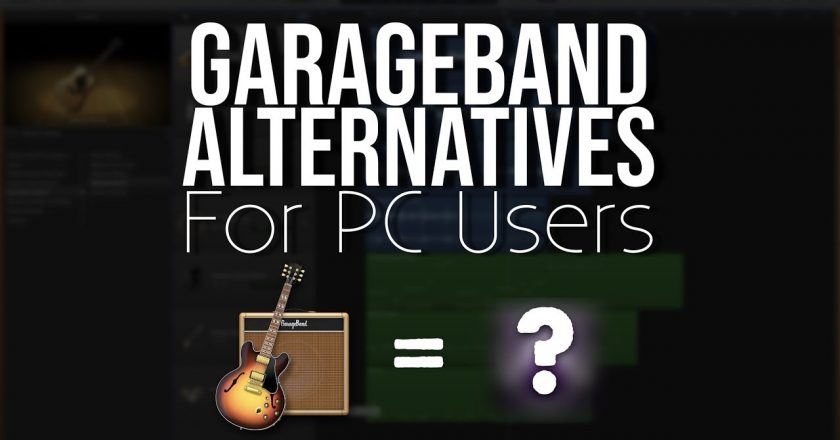 garageband for pc free no download