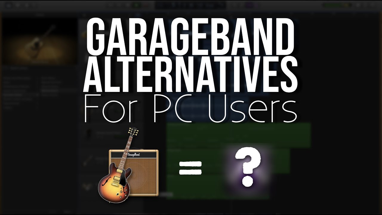 garageband alternative for pc