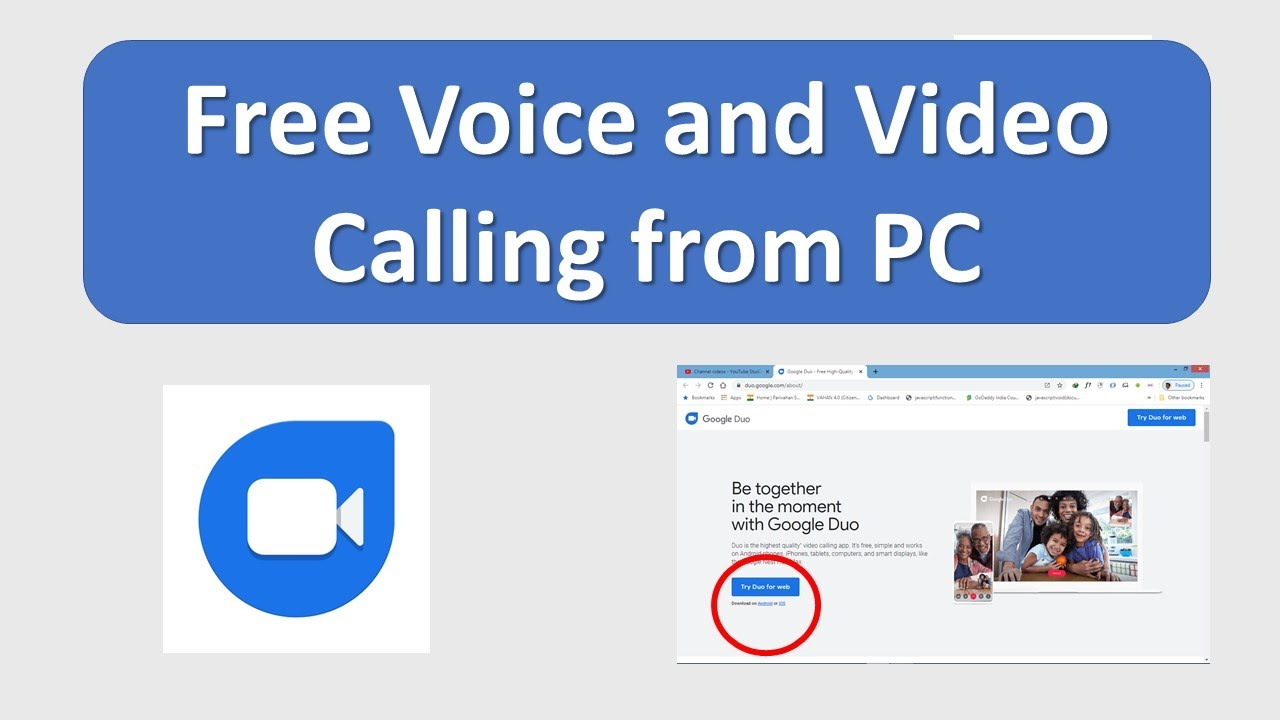 Calling App For PC