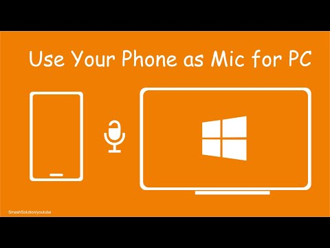 How To Use Phone As Mic For PC